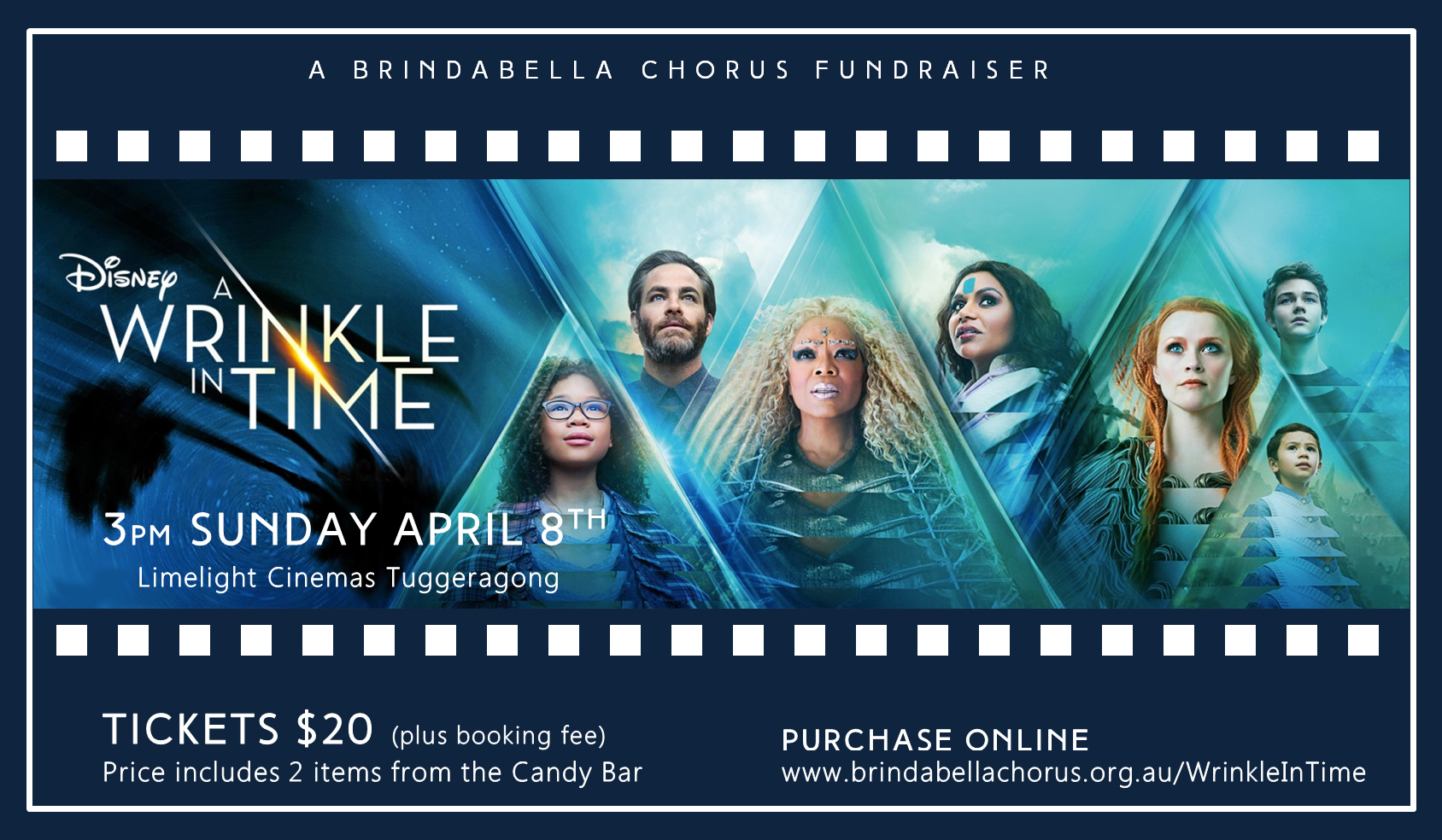 A Wrinkle In Time - Movie Fundraiser